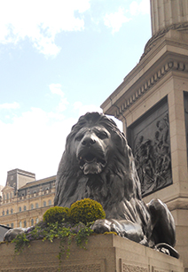 H Crowther at Trafalgar Square, 2012